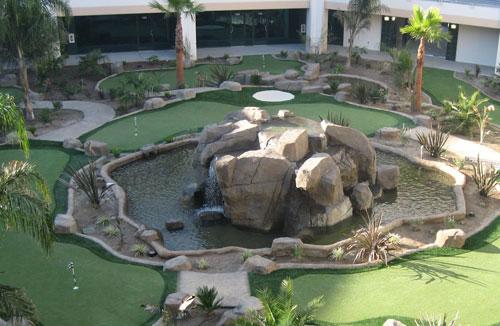 golf entertainment facilities development services