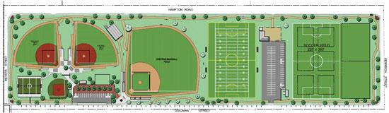 Sports complex design press release dallas texas for Sports complex planning design